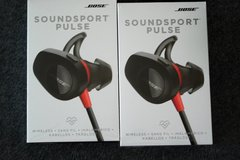 New Bose Soundsport Pulse Wireless red 115$ in Ramstein, Germany