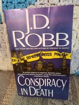 Conspiracy in Death by J.D. Robb  aka Nora Roberts, Book #8 in Warner Robins, Georgia