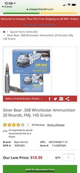 silver bear 308 in Moody AFB, Georgia