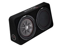 """kicker comp RT 12"""" sub and Reflexsubwoofer for deeper bass in Camp Pendleton, California"""
