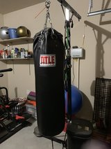 Title Punching Bag with Stand in Spring, Texas