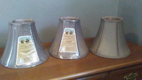 3 brand new bell shape lamp shades in Kingwood, Texas