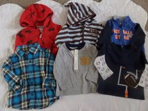 9 Month Boys Top and Jacket Lot in Kingwood, Texas