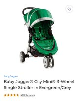 Baby Jogger City Mini Stroller in Tinley Park, Illinois