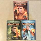 MacGyver Boxed Sets Seasons 1, 2 & 3 DVDs EUC in Fairfield, California