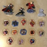 Disney Infinity Set 2.0 3.0 Avengers Crystal Power Discs Figures Lot EUC in Travis AFB, California