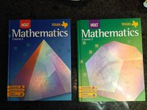 two mathematics books - selling as one lot in Tomball, Texas