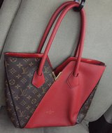 Red LV Purse in Okinawa, Japan