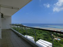 2BD Ocean View Apartment in Yomitan in Okinawa, Japan