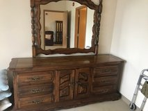 Large dresser and mirror in Bolingbrook, Illinois