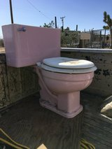 Pink Toilet Vintage in Yucca Valley, California
