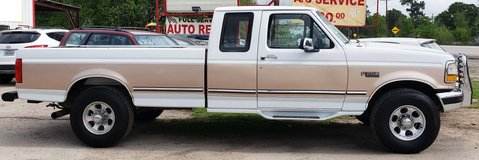 1996 FORD F-250 in Houston, Texas