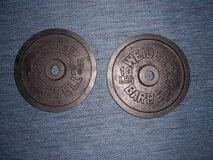 Barbell Weights (20 lbs) in Ramstein, Germany