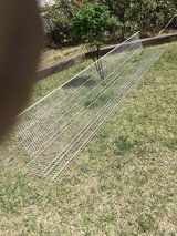 """Wire Shelving  12' length   12"""" deep     2 each in Alamogordo, New Mexico"""