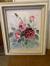 Oil painting Roses in Alamogordo, New Mexico