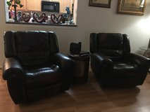 Recliners- Leather brown in Kingwood, Texas