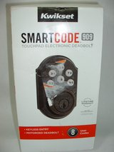 Kwikset 909 SmartCode Electronic Deadbolt featuring SmartKey in Alamogordo, New Mexico