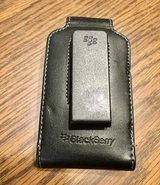 Blackberry Nappa Leather Swivel Holster Phone Case, Black in St. Charles, Illinois