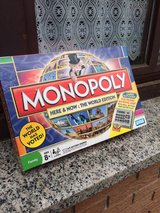 Monopoly Here and Now World Edition in Ramstein, Germany