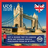 Buy a Nissan and get a Free Trip to London on Us! in Stuttgart, GE