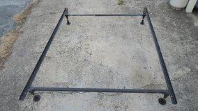 queen size metal bed frame in Okinawa, Japan