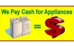 We Pay Cash For Your Broken Stoves Washers Dryers Refridgerators in Fort Polk, Louisiana