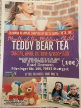 Teddy Bear Tea in Stuttgart, GE