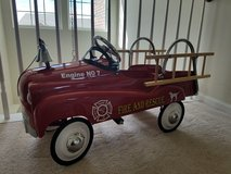 Instep Fire Truck Pedal Car in Morris, Illinois