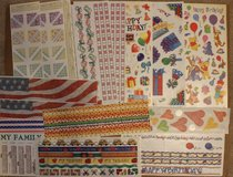 LOT of 70 random sticker sheets by multiple manufacturers in Plainfield, Illinois
