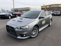 2012 MITSUBISHI LANCER EVOLUTION GSR SEDAN 4D 4-Cyl TURBO 2.0 Liter in Fort Campbell, Kentucky