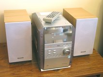 Panasonic SC-PM193 Bookshelf Stereo System in Westmont, Illinois