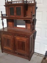 Antique French Step Back Hutch in 29 Palms, California