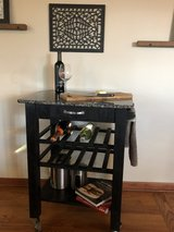 Kitchen Cart with Granite top in Chicago, Illinois