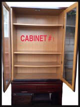 **KITCHEN SHELF/CABINET WITH DIVISIONS**BEAUTIFUL STYLES** in Okinawa, Japan