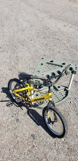 Child's Bike and Garden Tools Holder in Camp Pendleton, California