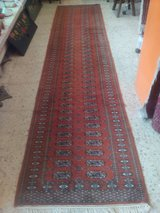 Old hand-knotted Orient Runner Carpet Rug about 372 X 80 cm or 146 x 31 Inch. in Wiesbaden, GE