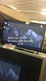 Smart TV 43 inches (New) LG with Remote in Fort Leonard Wood, Missouri