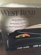Indoor Electric Grill in Bartlett, Illinois