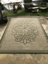 Outside rug in Okinawa, Japan