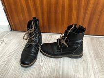 Ladies leather boots size 38 Eu in Stuttgart, GE