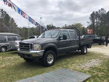 2002 FORD F-250 SUPER DUTY CREW CAB, XLT, 4X4, FLAT BED, 7.3 POWER STROKE DIESEL in bookoo, US