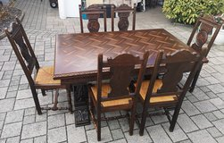 gorgeous Brittany dining room set with 6 chairs in Spangdahlem, Germany