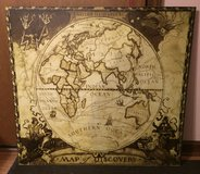 National Geographic Map of Discovery Eastern Hemisphere in Glendale Heights, Illinois