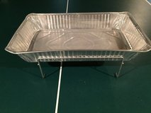 Sterno Chafing Dish Wire Rack w/Aluminum Pan in Oswego, Illinois