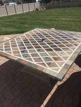 8 seat patio table in Aurora, Illinois