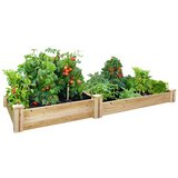 4 Ft. X 8 Ft. X 10.5 In. Cedar Raised Garden Bed Kit in Bolingbrook, Illinois