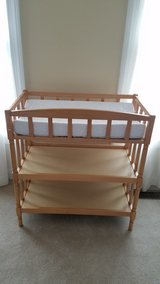 changing table w/ changing pad in Aurora, Illinois