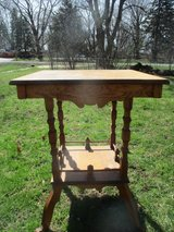 Antique Eastlake Small Table Reduced in Westmont, Illinois