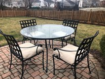 Crate & Barrel Patio Dining Set in Aurora, Illinois