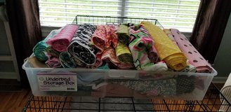 Whole tote of fabric in Fort Campbell, Kentucky